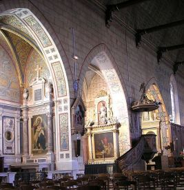 Chapelles nord église Bellême