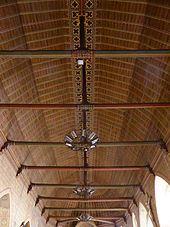 Saint Sauveur Bellême plafond