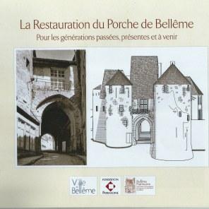 Brochure Restauration du Porche 001