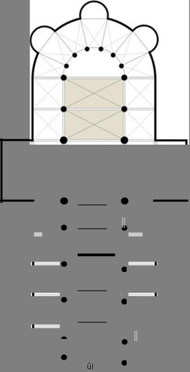 6. répartition des cloches dans le beffroi